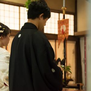 玉串奏奠玉串に気持ちを込め、神様に捧げます。 住吉神社 (博多)の写真(4439443)