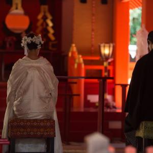 修祓挙式に際し、お清めをいたします。 住吉神社 (博多)の写真(4439524)