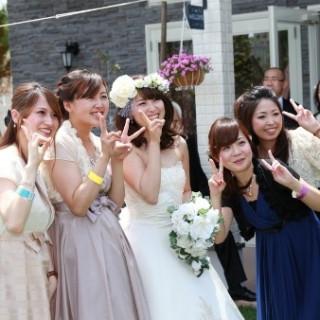 みんなで楽しむガーデン結婚式♪見学&相談会