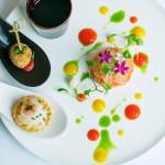 【料理グレードUP特典】五感で楽しむ料理演出◆2万コース試食