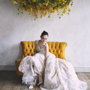 2組限定【先輩花嫁おすすめ】人気ドレス試着×緑溢れるチャペル見学フェア