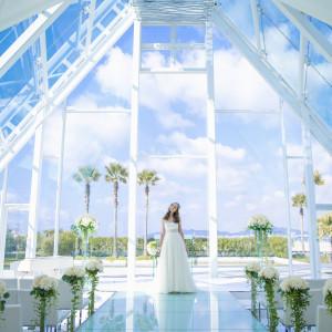 海を眺めるリゾートチャペル&ガーデン付オーシャンビュー会場体験×相談会