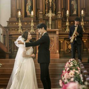パイプオルガンやトランペットの音色が堂内に響き渡る|Notre Dame KITAKYUSHU(ノートルダム北九州)の写真(3542568)