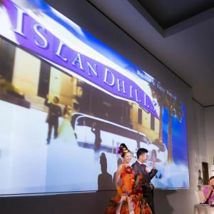 佐賀初の「K3ライトシステム」では、各種映像はもちろん多彩なエフェクト効果でパーティを更に盛り上げます!|アイランドヒルズ迎賓館佐賀の写真(325062)
