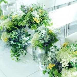 自然なアイテムで彩りを添えて シャルマンシーナ 東京(CHARMANT SCENA TOKYO)の写真(3298722)