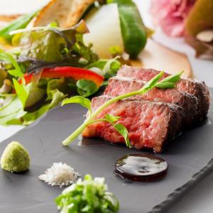 【QUO1.5万円&3万円フルコース】三田牛&キャビアの贅沢試食