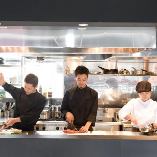 【料理重視の方】特製コース試食×オープンキッチン付会場見学