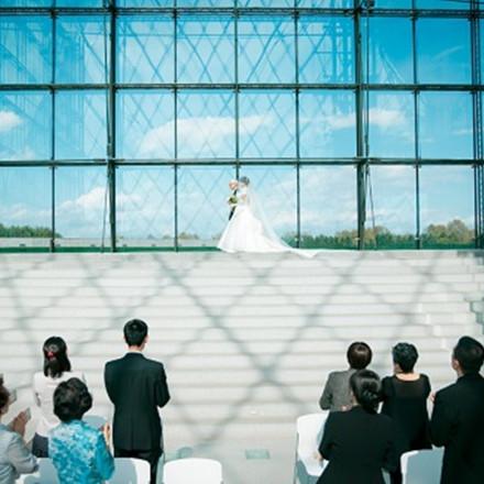 モエレ沼公園 ガラスのピラミッド(C.RELATIONSプロデュース)
