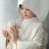 白無垢で神聖な一日の始まりを・・・