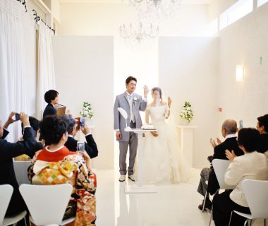 小さな結婚式 一の糸