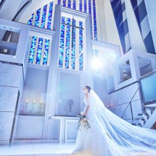 【選べる来館時間】短時間☆天井高17m大聖堂&会場見学