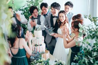 ふたりだけのWケーキ|En WEDDING(エン ウェディング)の写真(1662865)