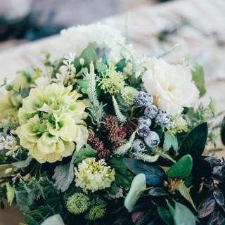 【会食】卓上造花使用料をプレゼント