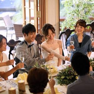【10名から叶う!】ふたりサイズの邸宅!小さな結婚式で伝える家族の絆