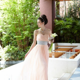 #ガーデン#憧れ#ドレス#色直し#自然光#映える