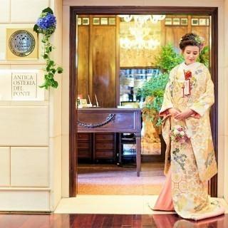 まずはサロンで相談!【東京駅×神前式×レストラン★】人気の和婚フェア