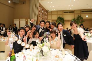 ゲストと記念の一枚を|アニヴェルセル みなとみらい横浜の写真(959074)