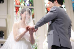 指輪の交換|アニヴェルセル みなとみらい横浜の写真(958982)
