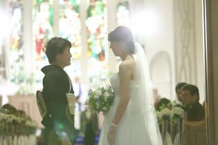 挙式~ベールダウン~|アニヴェルセル みなとみらい横浜の写真(958887)