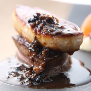 【フェア参加で事前に味を堪能♪】シェフ渾身の牛フィレ肉ロッシーニを無料試食