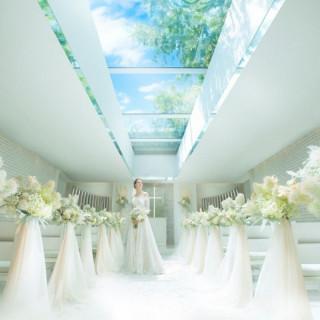 【残1組!ドレス&挙式プレゼント】絆と誓い・天空チャペル体験
