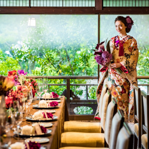 受け継がれてきた価値はそのままに、新旧の洗練が息づく京らしさ溢れる披露宴会場|アカガネリゾート京都東山(AKAGANE RESORT KYOTO HIGASHIYAMA)の写真(3998710)