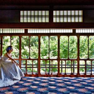 銅加工メーカのー邸宅をリノベーションした、歴史と独自のスタイルが際立つウエディングが実現。静寂な森とゆったりとした時間の流れに、心穏やかな1日を過ごせる京都の隠れ家。|アカガネリゾート京都東山(AKAGANE RESORT KYOTO HIGASHIYAMA)の写真(3998707)