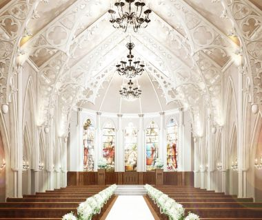 大分初!ステンドグラスとやわらかな光に包まれた大聖堂「セントクレアカテドラル」