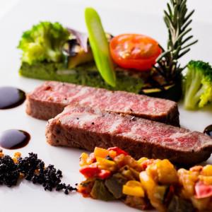 料理重視のお二人へ試食体験→フルオーダーWはゲスト皆様も驚くおもてなし