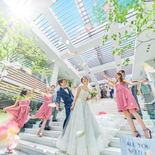 【月2限定】花嫁体験♪演出×ドレス特典付×似顔絵×1.8万円試食