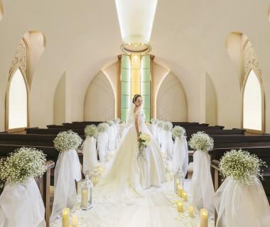 #wedding #チャペル #バージンロード #大理石 #白 #キリスト教 #人前式