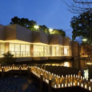 キャンドルを灯したナイトウエディングもおすすめです。|東京マリオットホテルの写真(1482989)