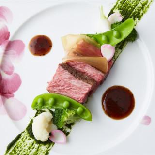 国産牛を使用したメインディッシュ×スープの婚礼メニュー無料ご試食