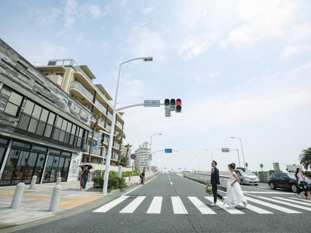 片瀬江ノ島駅から徒歩3分の抜群アクセス
