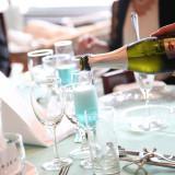 乾杯用のスパークリングワインはオーシャンブルーのオリジナルワインです!