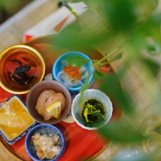 【贅沢料理試食】飛騨牛あぶり握り他4品!お昼の懐石試食フェア