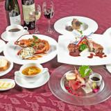 本格フランス料理コース一例