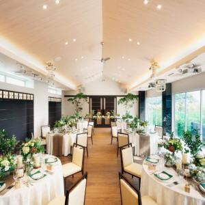 【ガーデンボールルーム】アットホームな会場で少人数でのご披露宴も可能!|ORIENTAL KYOTO SUZAKU-TEI 朱雀邸の写真(1310229)