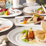 コース料理は全部で4種類。内容の組み換えが出来るのもアンジェラならでは。