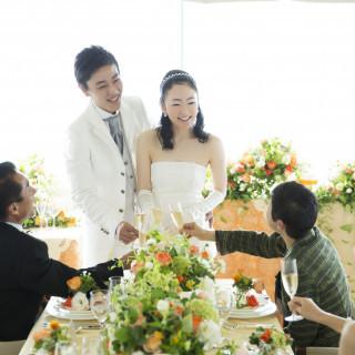 完全予約制【おもてなしを重視する方の為の相談会】お食事会婚もご提案