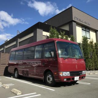 遠方ゲストも楽々♪送迎バス2台無料!