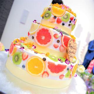 【総額12万円相当】ウェディングケーキ+人気のキャンドル演出の計12万円分を無料プレゼント!