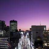 東京の夜景が眺望できるロケーション!ナイトウエディングもおすすめ。