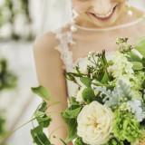 グリーンが映える花嫁の特別感
