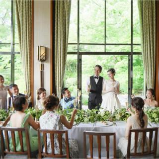 【予算安心・見積もり相談会】婚礼コース試食×リニューアル会場見学