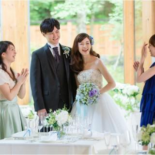 【来館特典付】家族や親しい人達と叶える少人数婚相談会☆