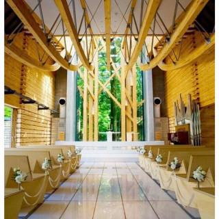 【大人花嫁向け】木とガラスのチャペル体験ツアー