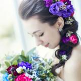 花嫁こだわりのブーケは世界に一つだけのデザイン。