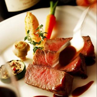 水曜限定★豪華5大特典×和牛フィレ&贅沢キャビアの美食体験
