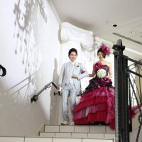 憧れのプリンセス階段入場♪+*